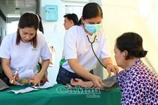 Khám, cấp thuốc miễn phí hơn 200 lượt bệnh nhân