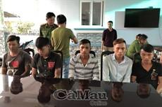 Cà Mau: bắt nhóm đối tượng trộm cắp và tiêu thụ xe gian