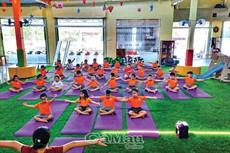 Trẻ năng động cùng aerobic