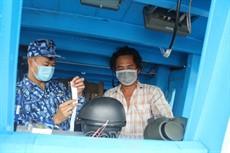BTL Vùng Cảnh sát biển 4, tạm giữ tàu chở dầu D.O không rõ nguồn gốc
