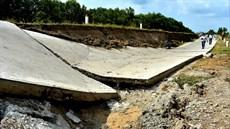 Cà Mau đang chịu tác động của biến đổi khí hậu gay gắt nhất