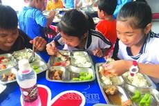 Chú trọng an toàn thực phẩm trong trường học