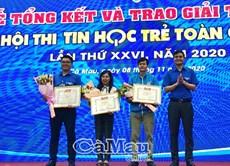 Tổng kết và trao giải Hội thi Tin học trẻ toàn quốc năm 2020