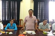 Đảng uỷ Dân Chính Đảng: Trao huy hiệu Đảng cho 8 đảng viên