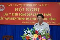 Đóng góp ý kiến dự thảo các văn kiện trình Đại hội XIII của Đảng