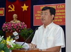 Cà Mau hoàn thành Đại hội Đảng bộ các cấp đúng quy định