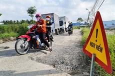 Nguy cơ tai nạn từ đường liên xã