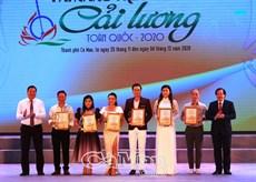 Cà Mau tổ chức thành công Cuộc thi Tài năng trẻ diễn viên cải lương toàn quốc