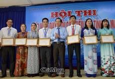 160 giáo viên tiểu học dạy giỏi cấp tỉnh