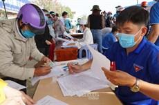 Truy vết, lấy mẫu xét nghiệm, giám sát sức khỏe người về từ tỉnh Hải Dương