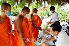 Đồng bào Khmer hăng hái đi bầu