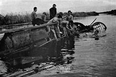 Nhận chìm tàu giặc trên sông nước Cà Mau