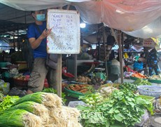 Chợ niêm yết giá, an tâm mua sắm