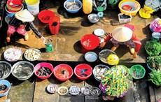 Chợ nông thôn ngày giãn cách