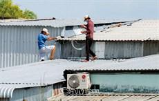 Bảo vệ tài sản mùa mưa bão