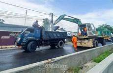Ðẩy nhanh tiến độ nâng cấp đường Nguyễn Trãi