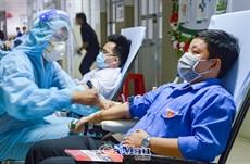 188 đơn vị máu sẻ chia lúc dịch bệnh