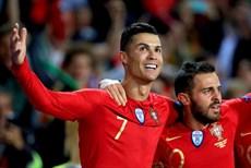Pháp bị cầm chân, Ronaldo giúp Bồ Đào Nha thắng nhọc