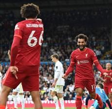Đấu muộn vòng 4, Salah ghi bàn, Liverpool thắng nhẹ Leeds United