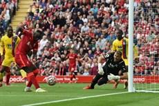 Vòng 5 Ngoại hạng Anh, Liverpool đè bẹp Crystal Palace