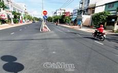 """Ðường phố Cà Mau """"thay áo mới"""""""