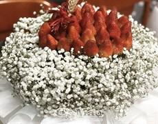Ðộc đáo hoa trái cây