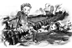 Cây cầu dừa tuổi thơ