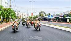Tăng cường tuần tra giao thông