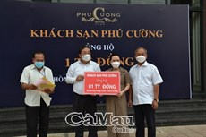 Khách sạn Phú Cường ủng hộ 1 tỷ đồng quỹ phòng, chống dịch Covid-19