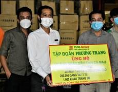 Công ty Phương Trang tặng tỉnh Cà Mau vật tư y tế trị giá gần 9 tỷ đồng